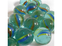 *W*A*N*T*E*D* Glass Cats Eye (or Milky) Toy Marbles.