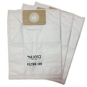 Filtres Nuera 189 pour aspirateur centrale