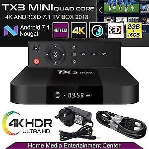 ★ TANIX TX3 ULTRA 4K ★ ANDROID 7.1 TV BOX ★ IPTV ★KODI 17.6 ★