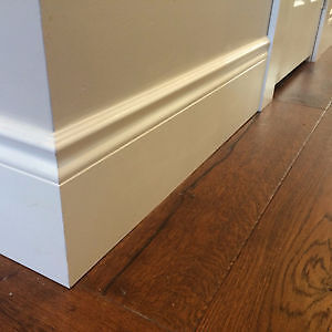 EXTRA TALL BASEBOARDS *DISCOUNTED*- COLONIAL PROFILE