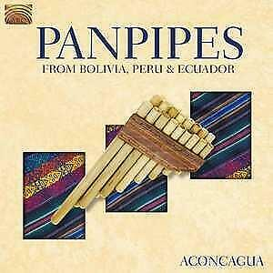 Panpipes From Bolivia, Peru & Ecuador-Aconcagua-CD