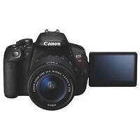 Canon EOS Rebel T5i 18MP DSLR Camera with EF-S 18-55mm IS STM Le