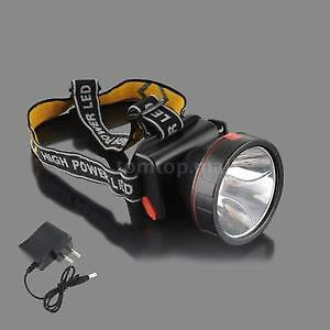 Lithium Battery Chargeable LED Headlight