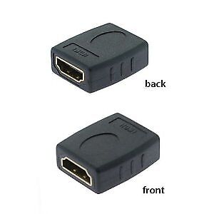 NEW HDMI Female to Female HDTV Extension Converter Connector