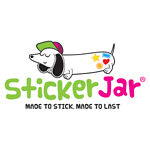 StickerJar kids name labels