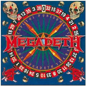 """MEGADETH """"CAPITAL PUNISHMENT THE MEGADETH YEARS"""" COLLECTORS CD"""