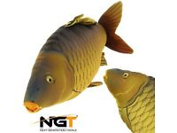 NGT Carp fish pillow new with tag cushion 70cm