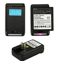 Chargeur batterie Samsung Galaxy S4 i9500 battery wall charger