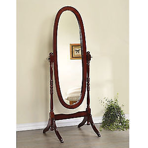 Oval stand-up Cheval Mirror Victorian Style (reg $125+tx)