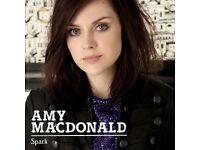 AMY MACDONALD-- TONIGHT - GLASGOW -- 1/2 price