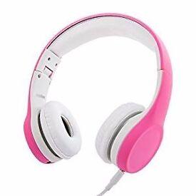 Wired Volume Limiting Kids Headphones (Brand New)
