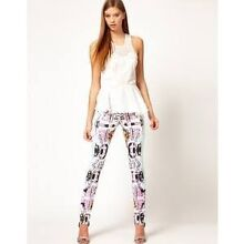 Alice McCall printed and beaded trousers/pants size 6 Scarborough Stirling Area Preview