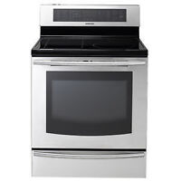 Cuisinière Induction 5,9 pi³ Stainless Samsung ( NE599N1PBSR )