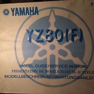 1979 Yamaha YZ80F Model Guide / Service Manual