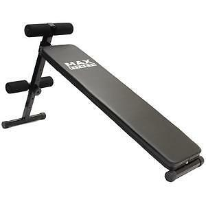 MAX-FITNESS-SIT-UP-AB-BENCH-HOME-GYM-EXERCISE-EQUIPMENT-WORKOUT-FOLDING-SITUP