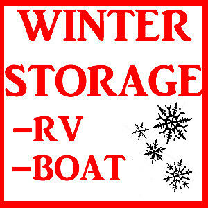 RV, BOAT and TRAILER storage COVERED and OPEN available