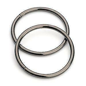 Metal rings ebay for Large plastic rings for crafts