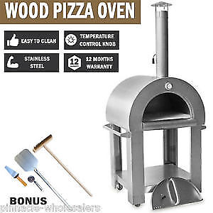 New STAINLESS STEEL THOR OUTDOOR FIRE  PIZZA OVEN
