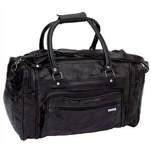 Large Leather Travel Bags