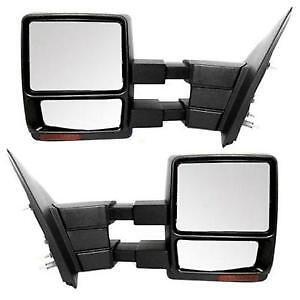 07-14 Ford F150 POWER HEATED Towing Mirrors Telescoping Signals