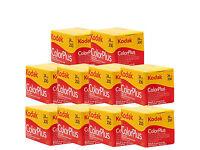 Kodak ColorPlus 200 24exp 10 rolls. Exp 05/2019 New