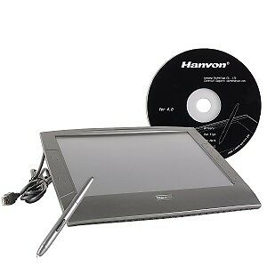 "6x8"" Hanvon Painting Master USB Graphics Tablet w/Cordless Pen"
