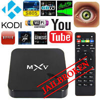 All New MXV Android TV Box -Fully Loaded!