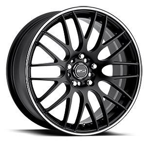 """Set of 4 18""""inch rims and tires."""