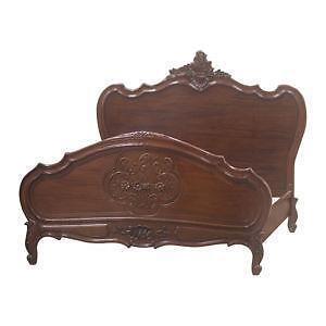 antique mahogany bed - Mahogany Bed Frame
