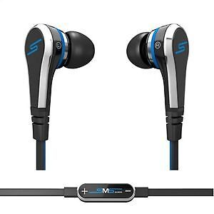 SMS STREET BY 50 - WIRED IN EAR HEADPHONES - BLUE