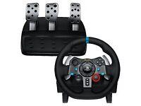 PS4 Logitech g29 racing wheel