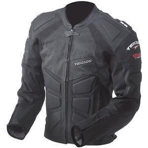 Teknic chicane leather jacket