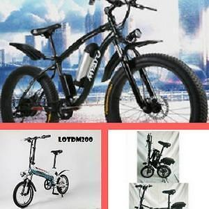 """Weekly Big  Promotion!!!   High-end eBike, 14"""", 20"""", 26"""" Folding/City Mountain eBike starting from $1099"""