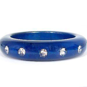 Clear Lucite Bracelets