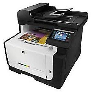 HP Color Laserjet Pro CM1415fnw wireless Printer Almost NEW