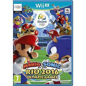 WANTED - Mario and Sonic at the Rio 2016 Olympic Games - WiiU