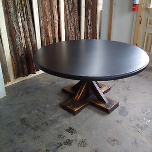 Round Harvest Table  On SALE  Tax Included