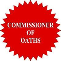 COMMISSIONER OF OATHS TO WITNESS DOCUMENTS FLAT RATE