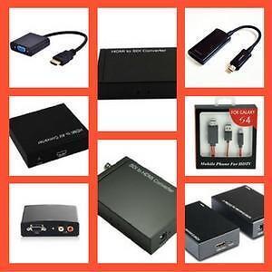 Boxing Week Sales Extended!     HDMI to VGA,HDMI to Composite, HDMI to Component, HDMI TO CAT6/cat5e, HDMI TO SDI, Mi
