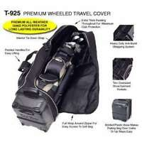 NEW Travel Golf Bag NEW PREMIUM Bag Boy T-925 Black
