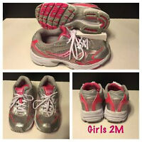 GIRLS 2M SAUCONY RUNNING SHOES