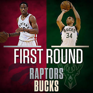 Raptors Game 5 Tickets Against the Bucks - LOWER BOWL