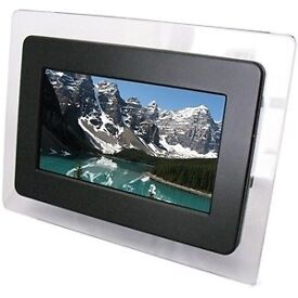 Digital photoframe 7 inch by texet £15 RRP £40