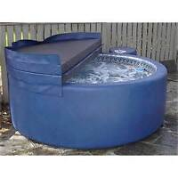 OLD HOT TUB soft tub