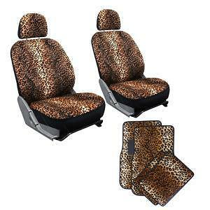Leopard Print Seat Covers