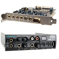 Creative Labs Soundblaster Audigy 2 ZS Soundcard + Inst. Console