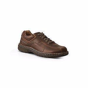 New in Box Size 10 DENVER HAYES Men's Hamilton Lace-Up Shoes PREMIUM LEATHER UPPER QUAD COMFORT