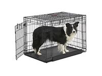 Dog Crate - 2 doors, for dogs up to 20kg, nearly new