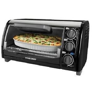 !!! BRAND NEW !Countertop Oven Black & Decker 1200-Watt 4-Slice
