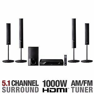 1000 watts sony home theater system